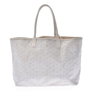 Goyard Goyardine Saint Louis Pm White
